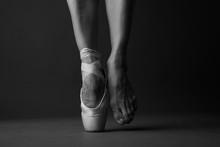 Standing On Tip Toe, Monochrome