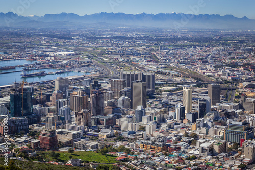 Staande foto Afrika View of Cape Town