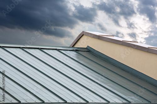 Valokuvatapetti New metal roof