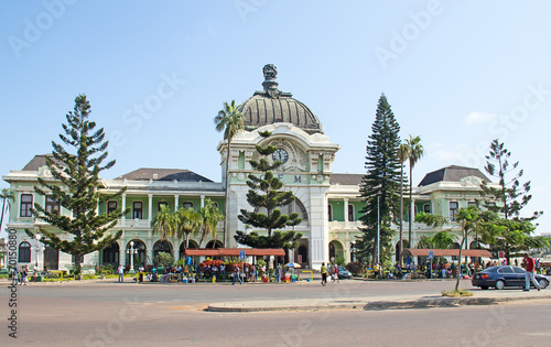 Garden Poster South Africa Maputo train station