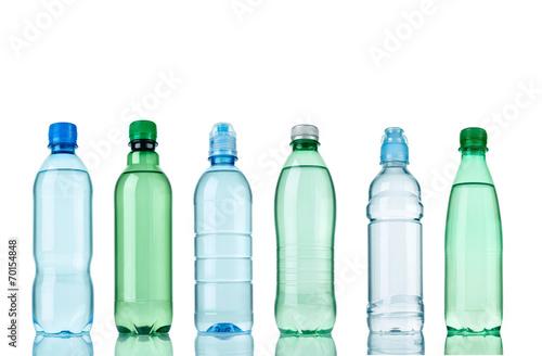 Fotografie, Obraz  water plastic bottle drink