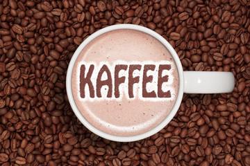 Panel Szklany PodświetlaneKaffeetasse - Kaffee