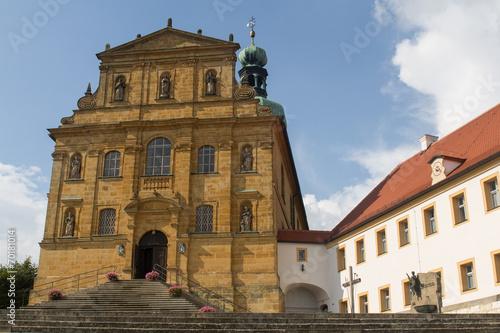 Church in Amberg Canvas Print