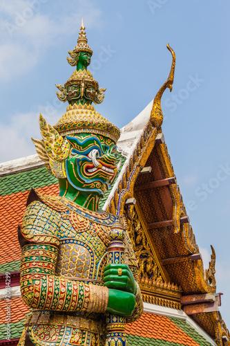 Thailand Demon Canvas Print