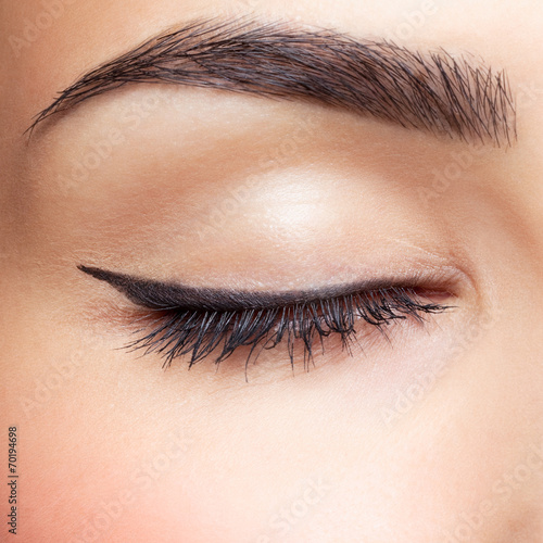 Fotografering  eye zone makeup