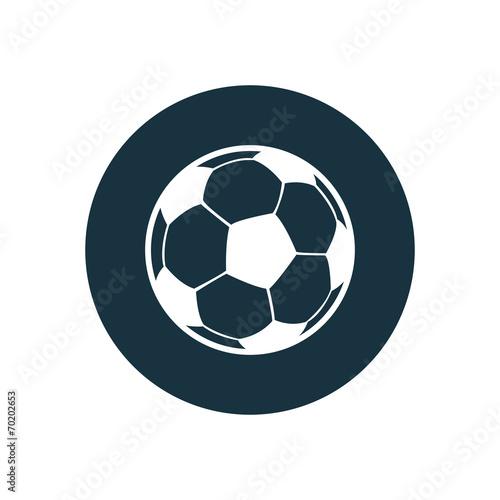 Vászonkép ball circle background icon.