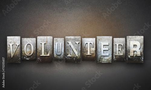 Photo  Volunteer Letterpress