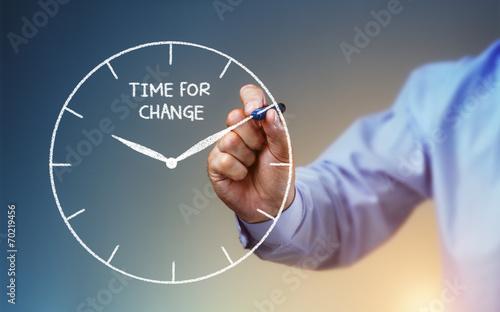 Fotografie, Obraz  Time for change