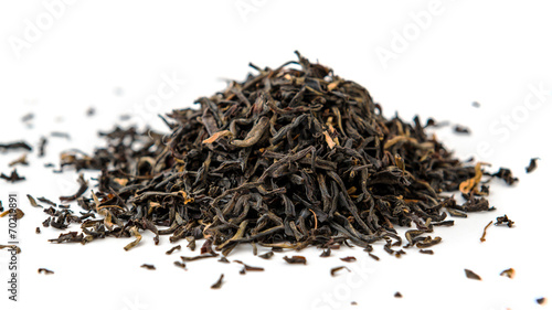 Indian ASSAM golden tips tea isolated Wallpaper Mural