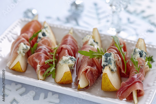 Foto op Canvas Buffet, Bar Appetizer for holidays