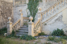 Garden Stairways Of A Abandone...