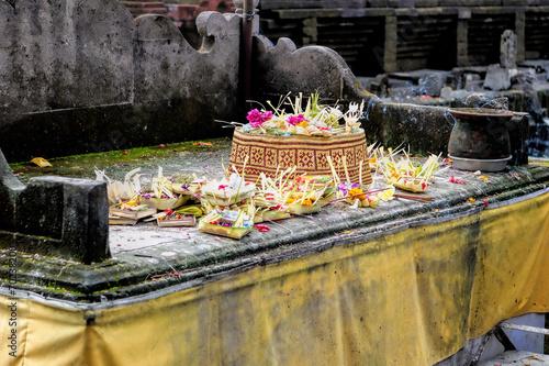 Foto op Plexiglas Artistiek mon. Hindu offering