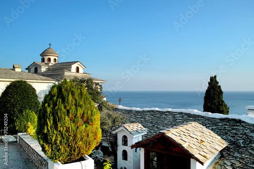 Valokuva  St Archangel Michael Monastery in Thassos