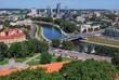 панорама Вильнюса, Литва