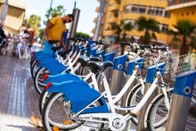 Bikes For Rent In The City