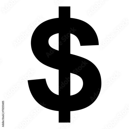 Fotografia, Obraz  Dollar sign