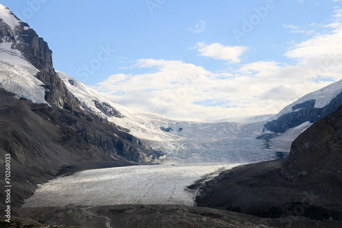 Valokuva  Athabasca Glacier, part of the Columbia Icefield