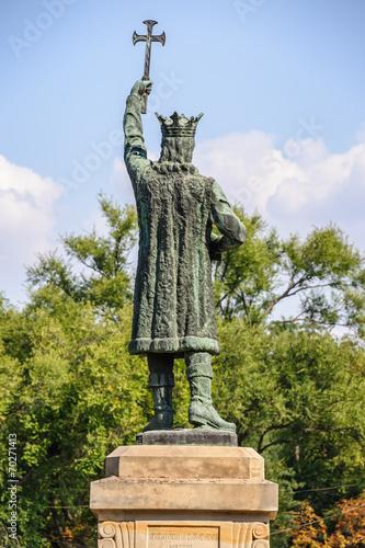 Fotografie, Obraz  Monument of Stefan cel Mare in Chisinau, Moldova