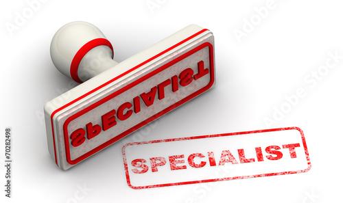 Fotografia Специалист (specialist). Печать и оттиск