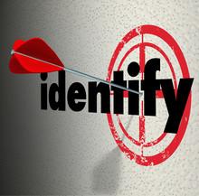 Identify Word Arrow Target Dia...
