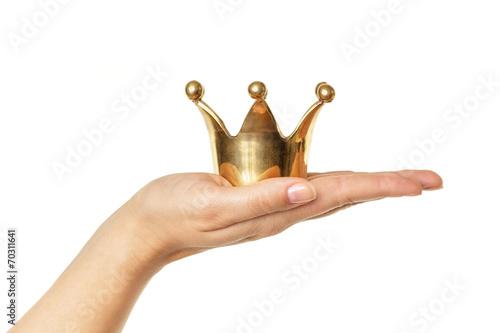 Fotografie, Obraz  Der Kunde ist König