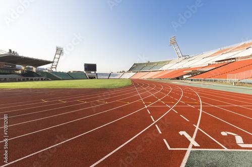 Fotografie, Obraz  Atletická dráha