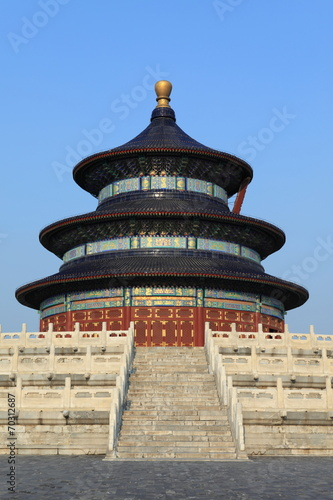 Fotobehang China Temple of Heaven in Peking China