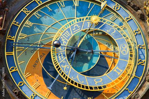 Fotobehang Praag Prague Astronomical Clock
