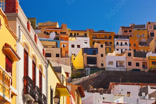 Naklejka premium Miasto San Sebastian - Wyspa La Gomera - Wyspy Kanaryjskie