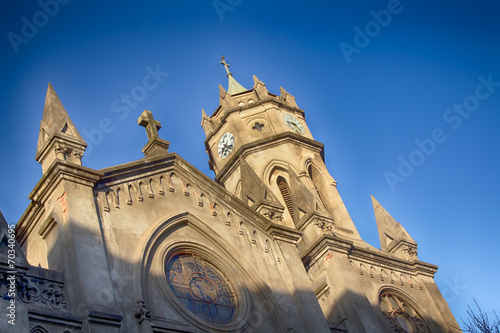 Catholic Church in the city of Palencia Spain