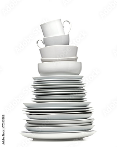 Recess Fitting Ready meals Plate Tower