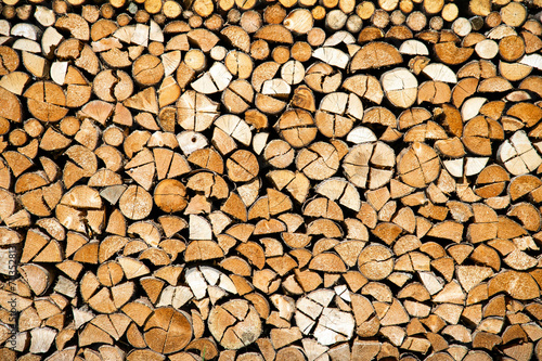 Photo Stands Firewood texture Brennholz