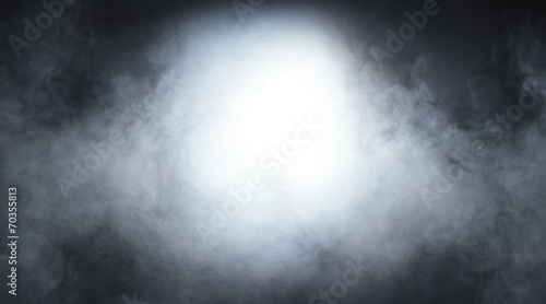 Fotobehang Rook Smoke texture over blank black background