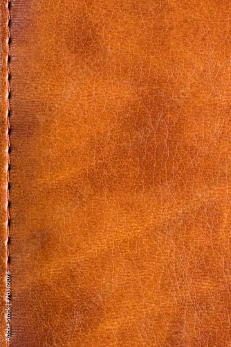 Deurstickers Leder Skin book cover texture