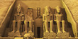canvas print picture Temple of Abu Simbel
