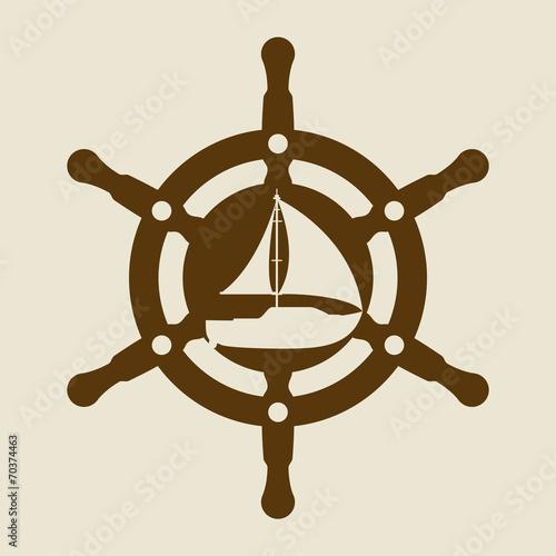 boat design Canvas Print