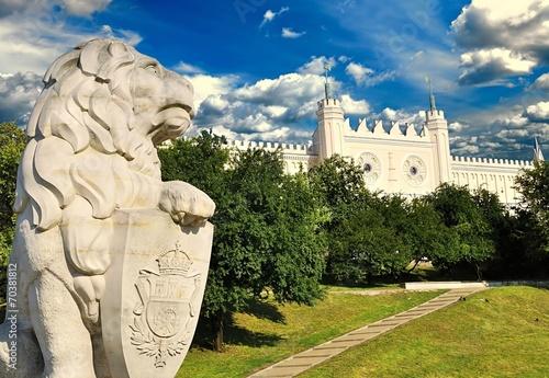 Obraz Medieval royal castle in Lublin, Poland - fototapety do salonu