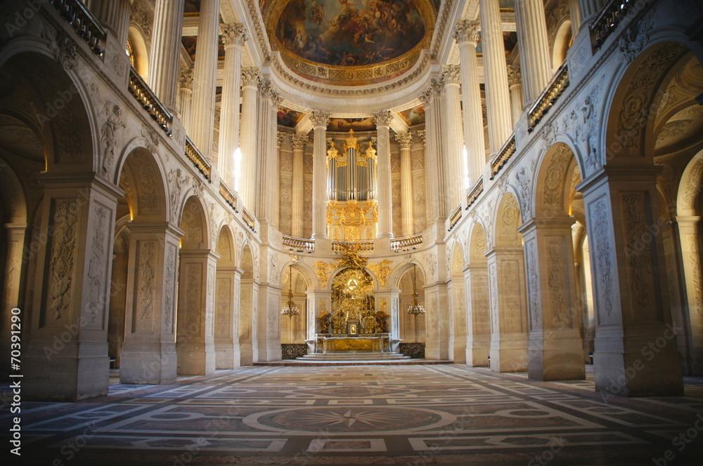Fototapety, obrazy: 王の礼拝堂、王室礼拝堂、ベルサイユ宮殿