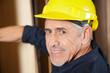 Portrait Of Senior Carpenter Smiling