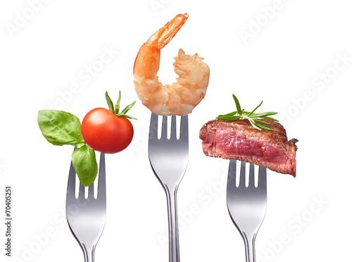Printed kitchen splashbacks Fresh vegetables Gesundes und ausgewogenes Essen