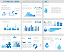 Water Infographics. Informatio...