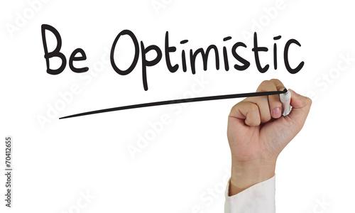 Photo  Be Optimistic