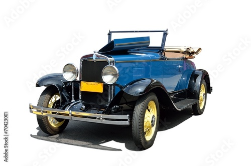 Vintage cars Vintage 1930 convertble car