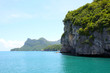 canvas print picture coastline in Ang Thong National Marine Park, Thailand