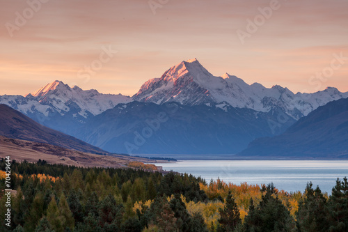 Foto op Aluminium Nieuw Zeeland Mt. Cook