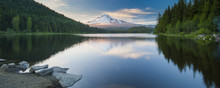 Volcano Mountain Mt. Hood, In ...