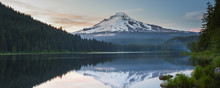 Volcano Mountain Mt. Hood, In Oregon, USA.