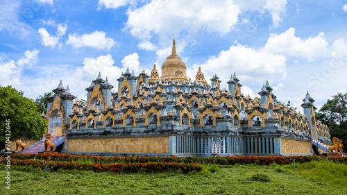Wall Murals Temple Wat Phakrung