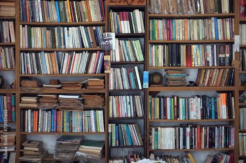 Fotografie, Obraz  Old book case
