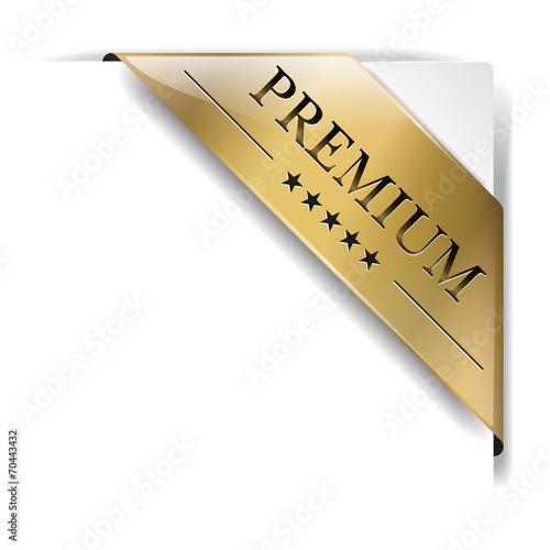 Fotografía  Banderole Premium Gold